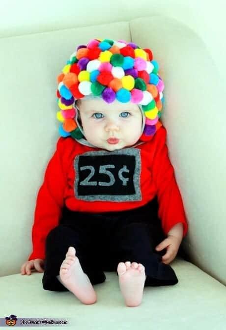 Baby Gumball Machine Costume via Costume Works