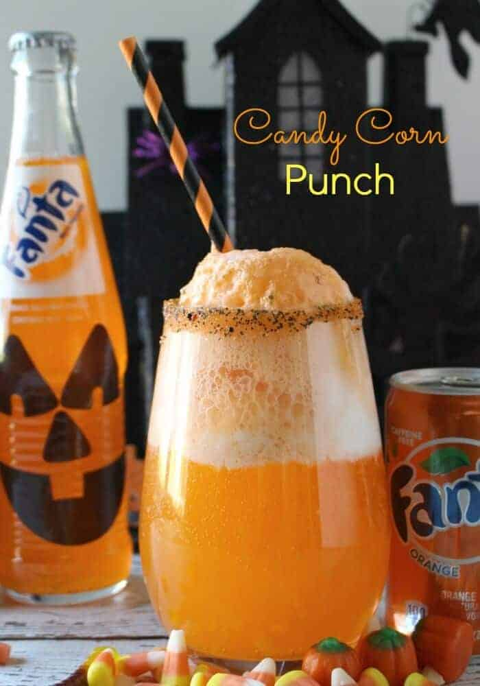 Candy Corn Punch - A deliciously spooktacular treat