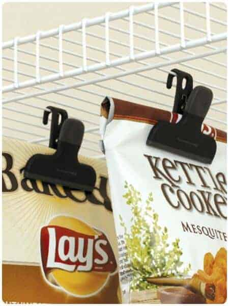 Hanging Chip Clips via Somewhat SImple