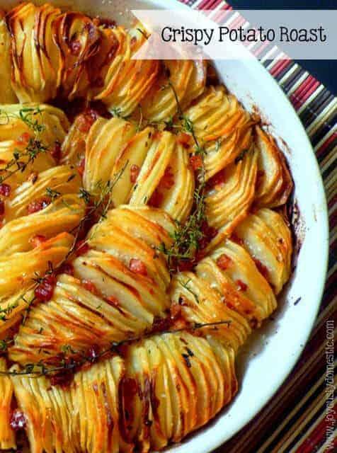 Crispy Potato Roast by Joyously Domestic