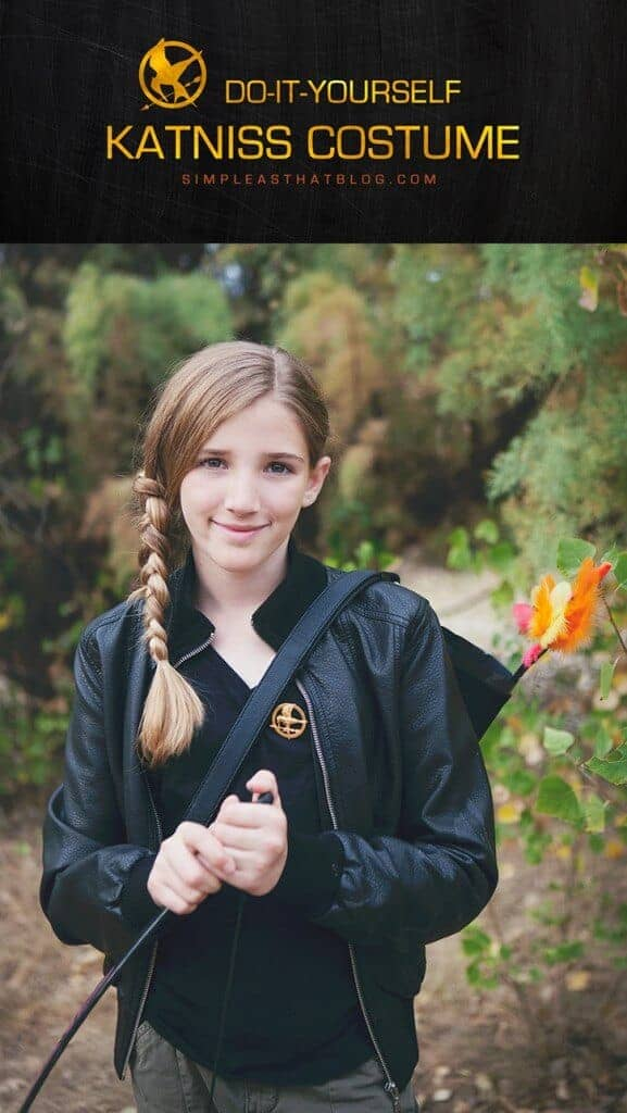 DIY Katniss Everdeen Costume by Simple as That