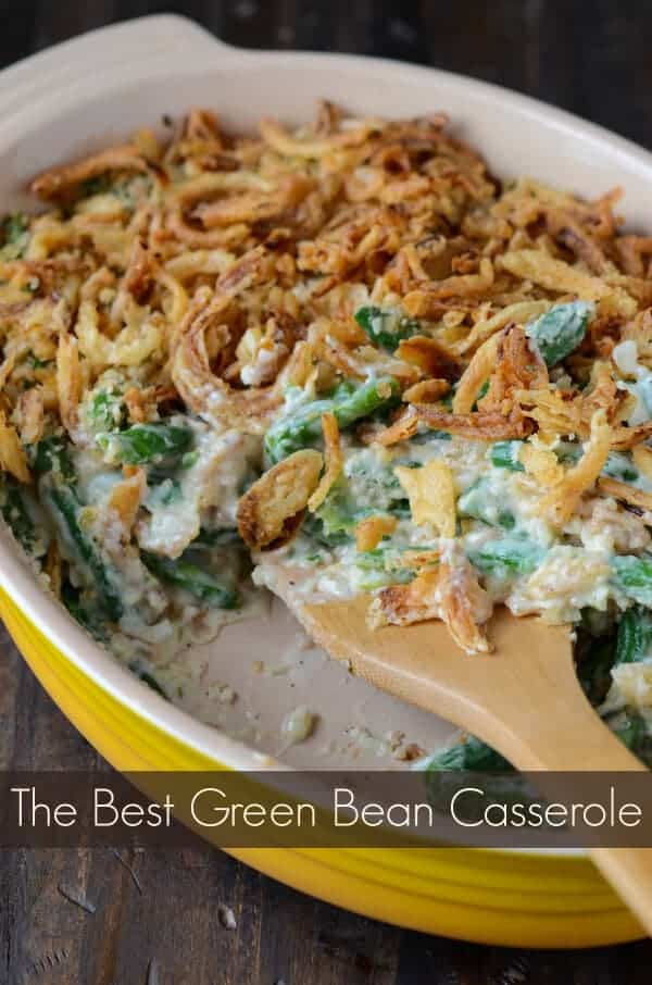 Green Bean Casserole by The Novice Chef
