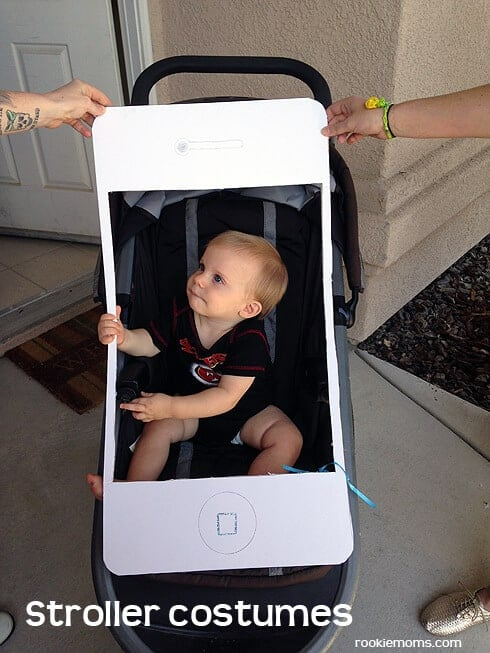 Iphone Stroller Costume by Rookie Moms