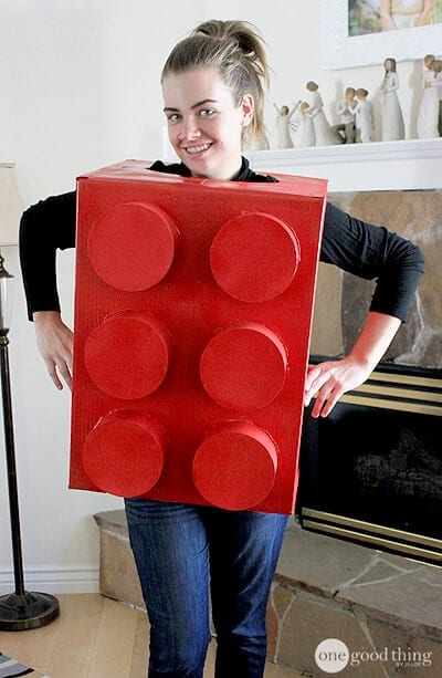 Lego Costume by One Good Thing by Jillee