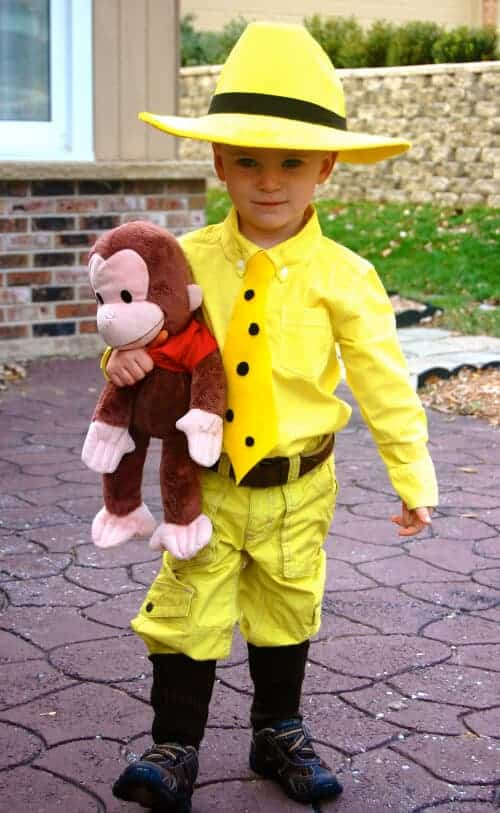 Man with the Yellow Hat Costume by Haute Apple Pie