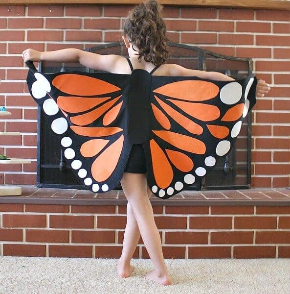 Monarch Butterfly Wings by Buggy and Buddy