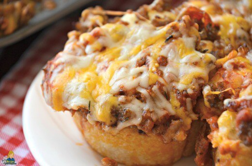 Pizza Muffins made in a Muffin tin