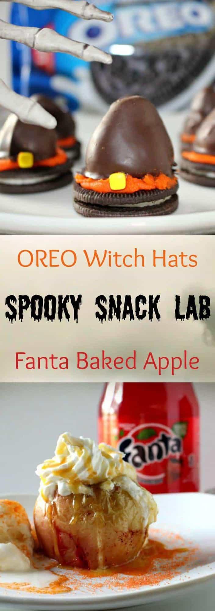 Spooky Snack Lab Halloween Treats #SpookySnackLab #IWorkWithCoke