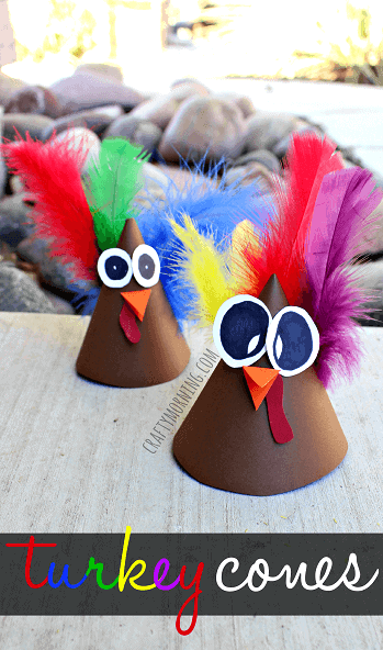 Turkey Cones by Crafty Morning