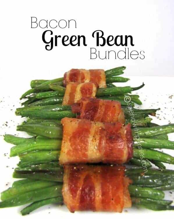 Bacon Green Bean Bundles by Spend with Pennies