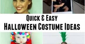 Quick and Easy Halloween Costume Ideas