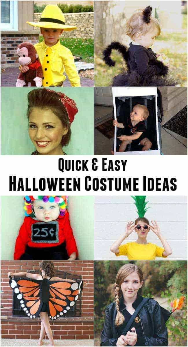 Just grab a T-shirt and harness the holiday spirit with one of the funniest Halloween costumes ever. If you're a little shy, recruit a friend or family member to don one of these simple Halloween costumes with you so you won't have to dress up alone.