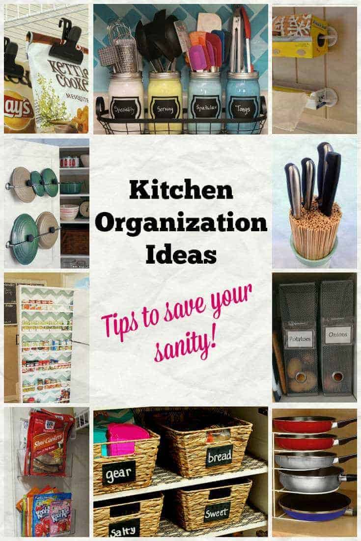 Kitchen organization ideas to save your sanity page 2 for Kitchen organization ideas