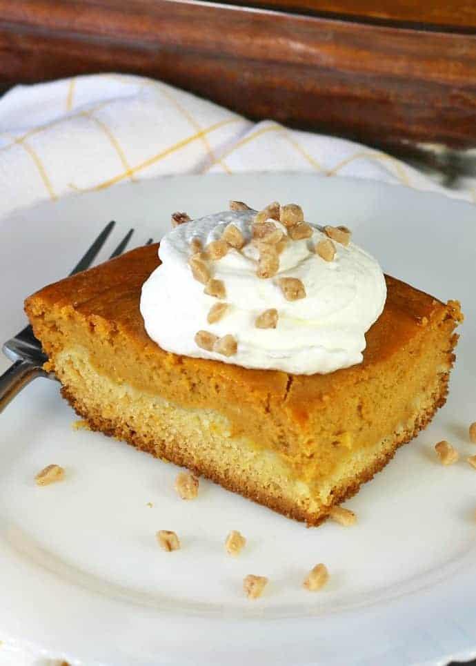 Pumpkin Butter Cake Recipe