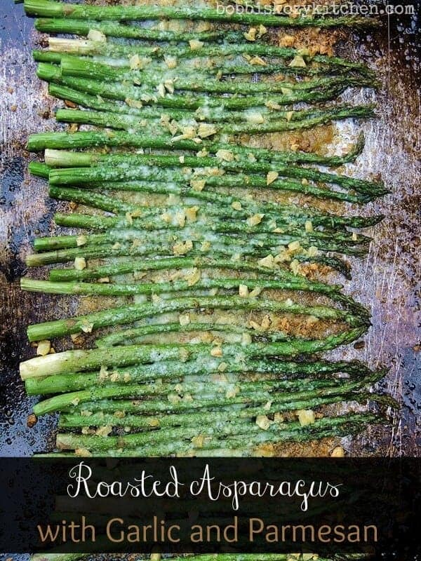 Roasted Asparagus with Garlic and Parmesan by Bobbi's Kozy Kitchen