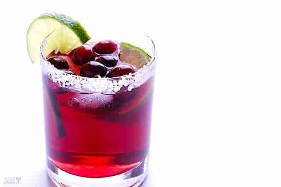 Cranberry Margaritas by Gimme Some Oven