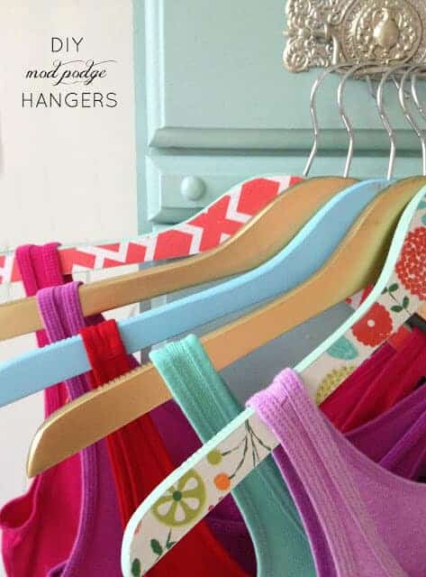 DIY Mod Podge Hangers by Live Love DIY