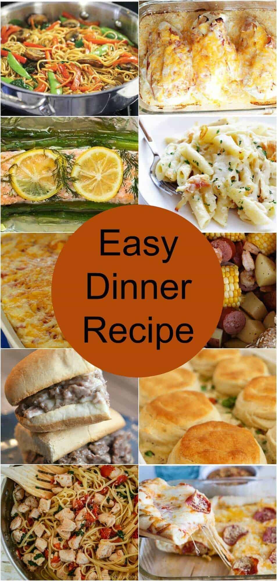 10 Easy Dinner Recipes - Princess Pinky Girl