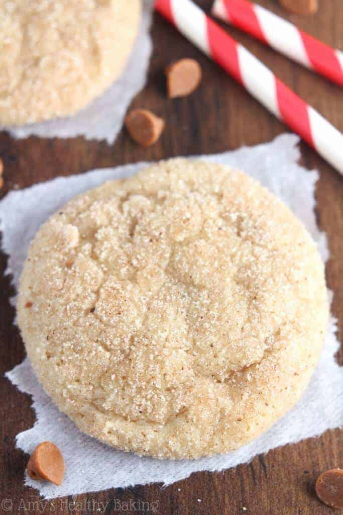 Eggnog Snickerdoodles by Amy's Healthy Baking