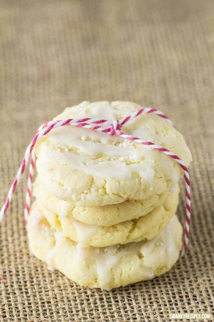 Glazed Lemon Sugar Cookies by Swanky Recipes