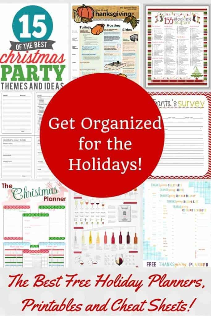 Holiday Organization Ideas