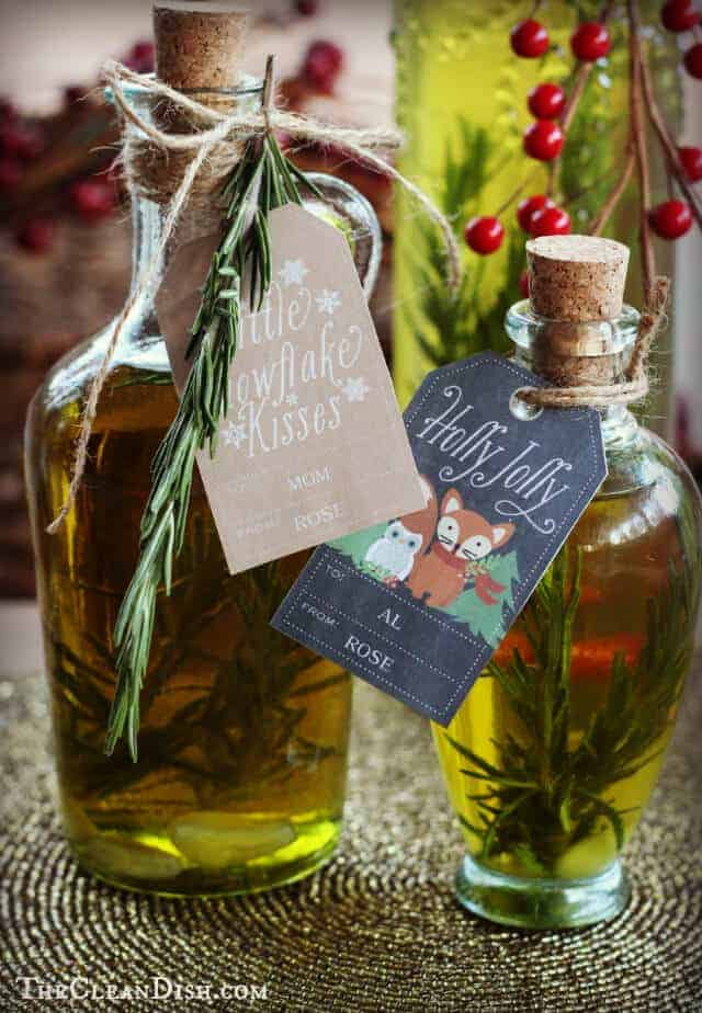 Homemade Infused Olive OIl by Clean Dish