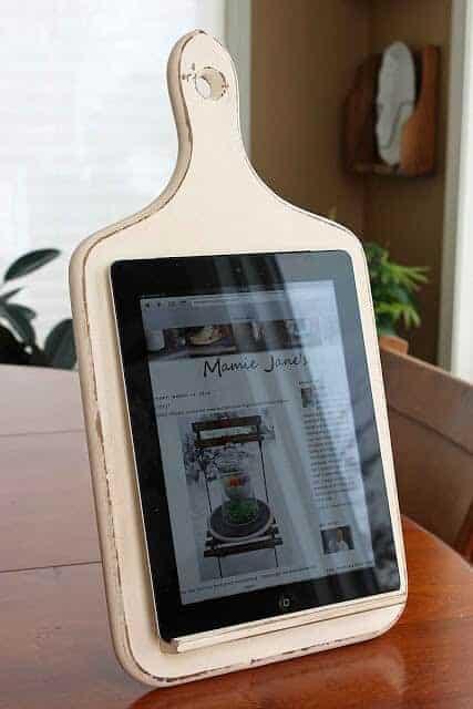 Kitchen Tablet Holder by Mamie Jane's
