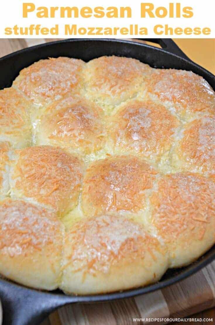 Stuffed Parmesan Rolls