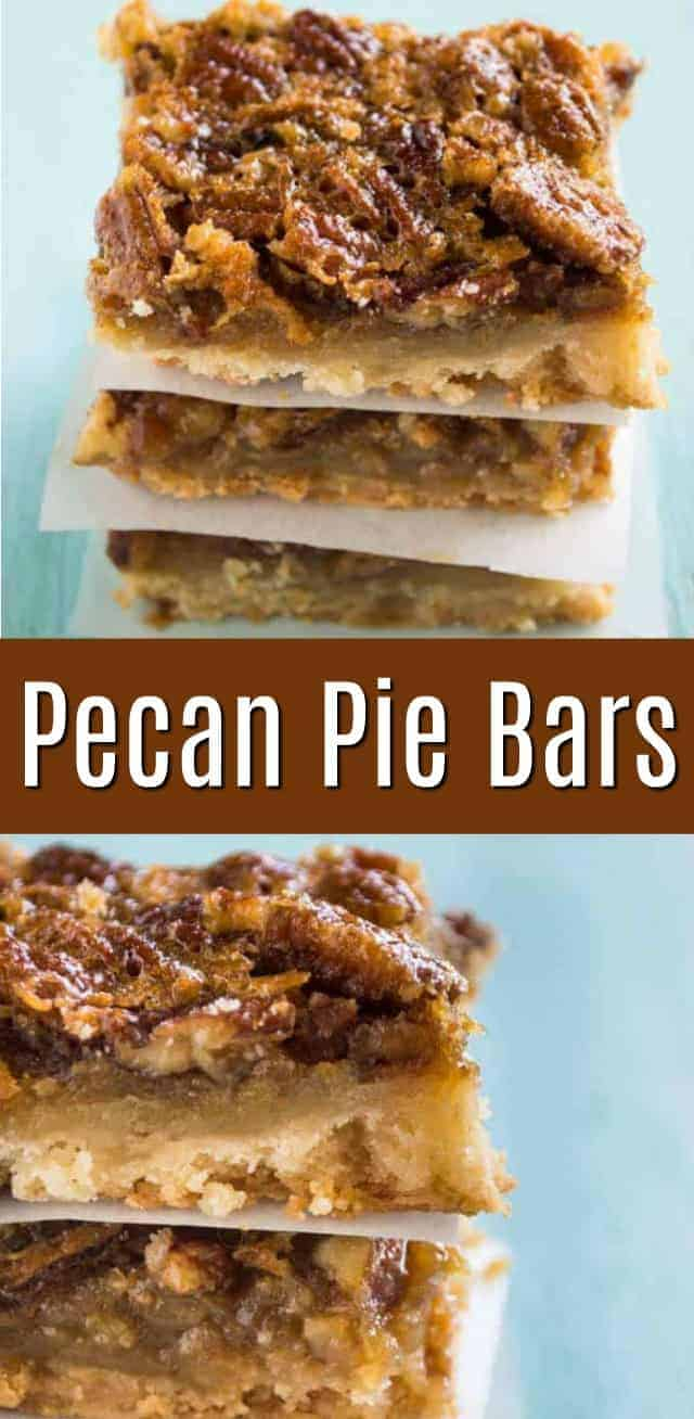Pecan Pie Bars pinterest image