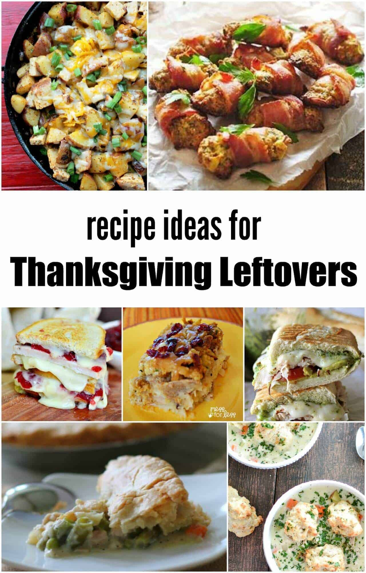Thanksgiving Leftovers Recipe Ideas