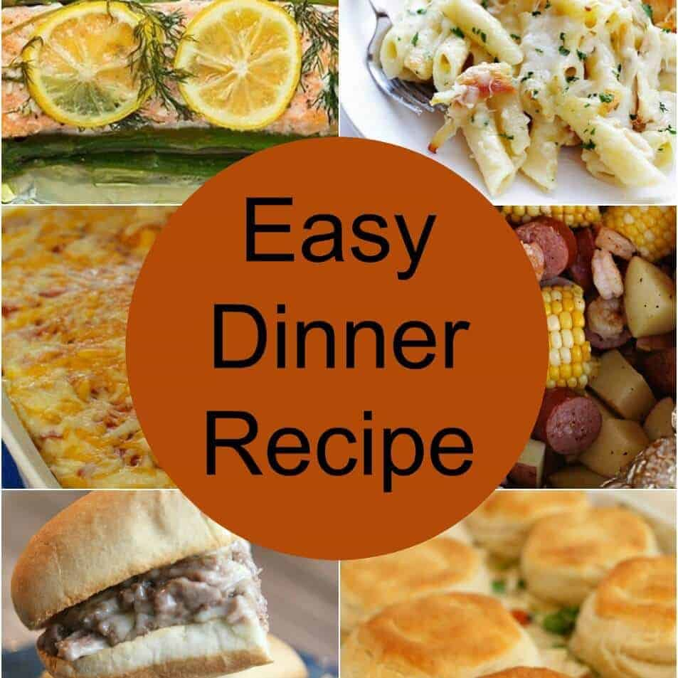 dinner recipes featured image, dinner ideas