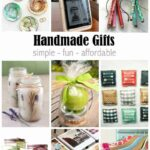 Handmade Gift Ideas that Anyone Can Make!