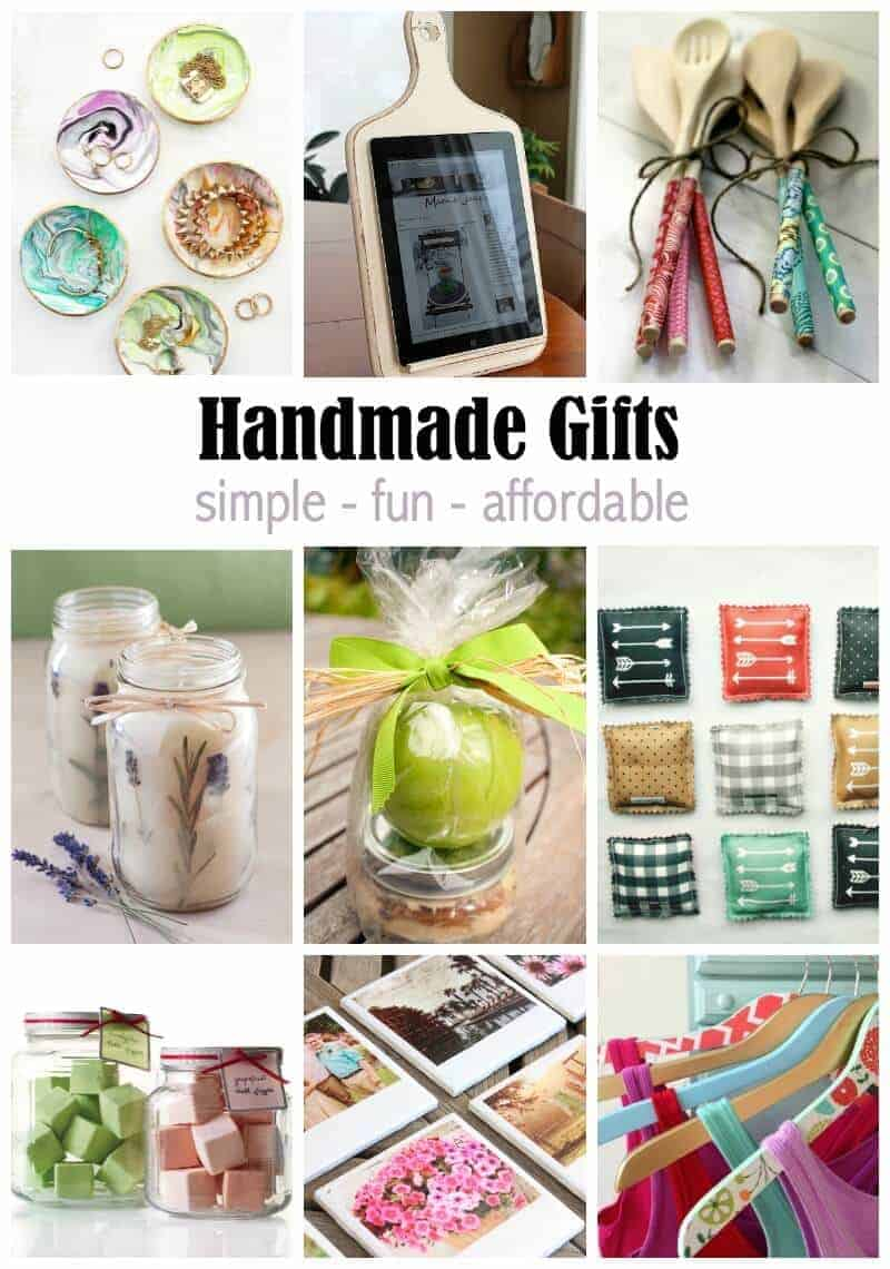 Handmade Gift Ideas that Anyone Can Make!
