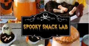 spooky snack lab
