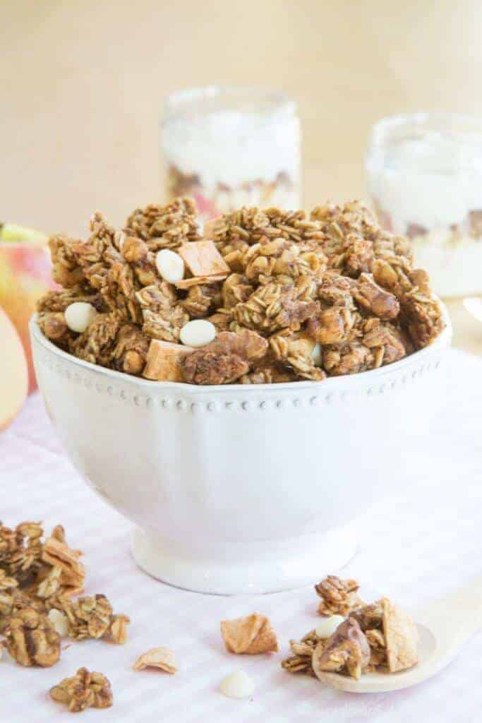 This Apple Crisp Granola recipe