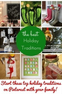 The Greatest Holiday Traditions on Pinterest