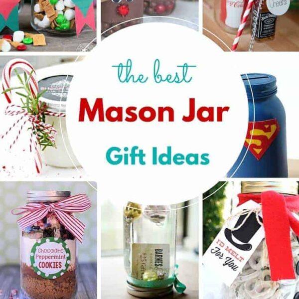 Best Mason Jar Gifts on Pinterest