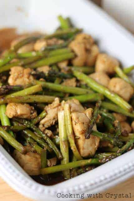 Chicken & Asparagus Stir Fry recipe