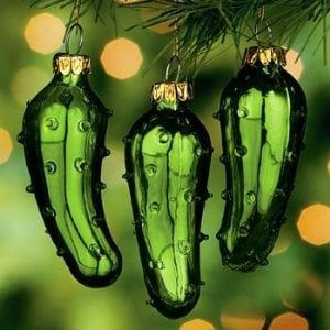 Christmas Pickle Story by Folk Art by the Crackling Crows