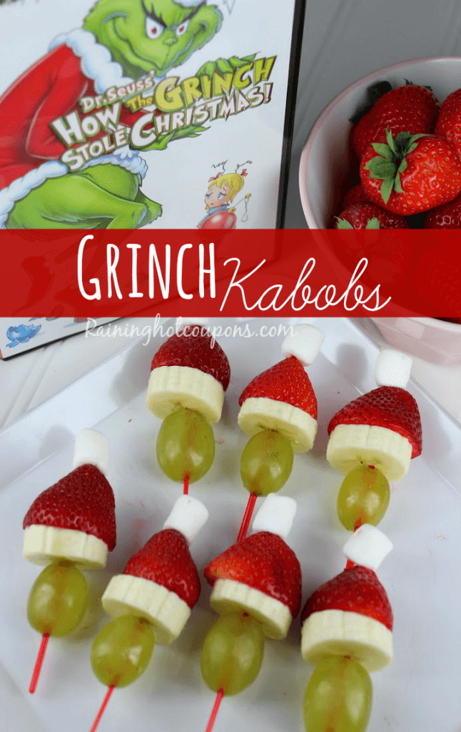 Grinch Kabobs by Raining Hot Coupons