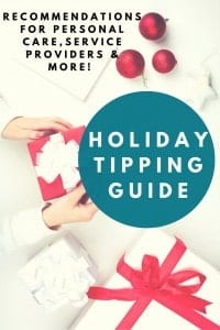 The Ultimate Holiday Tipping Guide