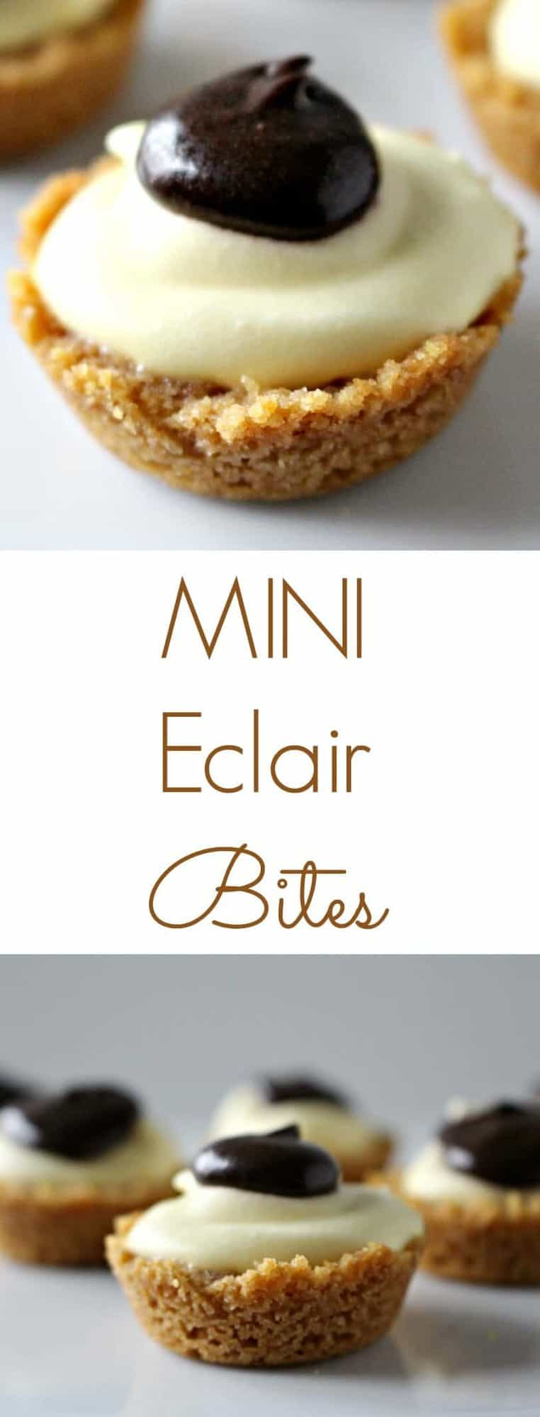 Mini Eclair Bites - an easy dessert that your guests will love