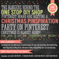 Christmas Pinspiration Party – SAVE THE DATE!