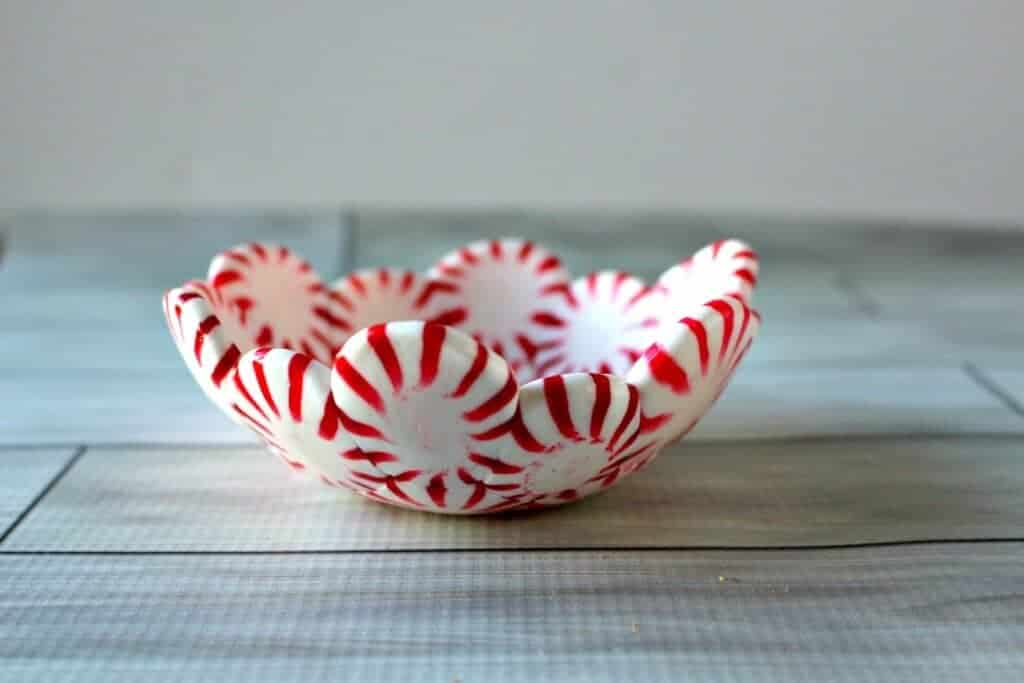 DIY Peppermint Candy Bowls - Princess Pinky Girl