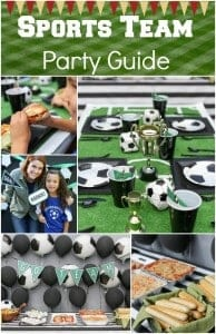 Sports Team Party Guide