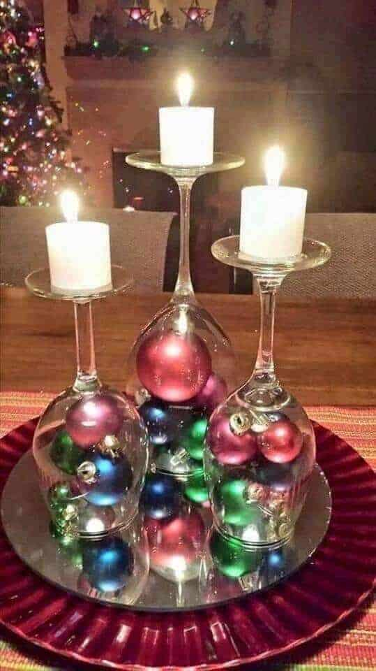 Easy Christmas Table Decoration