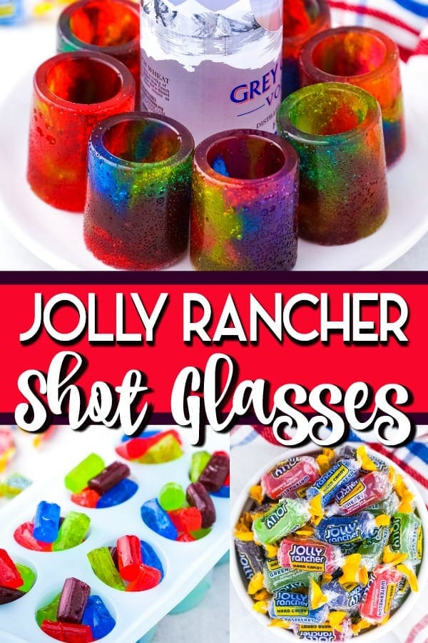 Jolly Rancher Shot Glasses pinterest