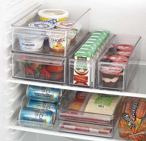 7 Steps to an Organized Fridge by Decorating Your Small Space