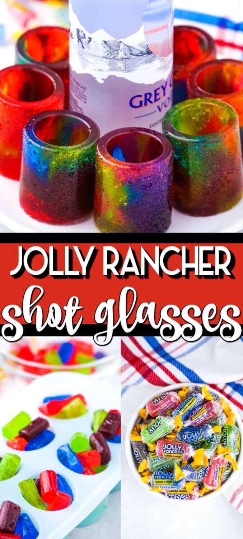 Jolly Rancher Shot Glasses pinterest