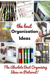 The Best Organization Ideas on Pinterest